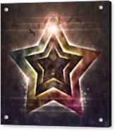 Star Lights Acrylic Print