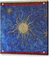 Star Meander Acrylic Print