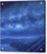 Star Path Acrylic Print