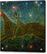 Star Rider Acrylic Print by David Lee Thompson