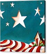 Star Spangled Acrylic Print by Cindy Thornton