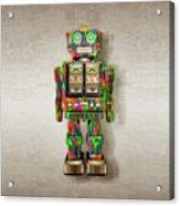 Star Strider Robot Psyc Acrylic Print