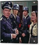 Star Trek Patterns Of Force Episode Publicity Photo Number Two 1968 Acrylic Print