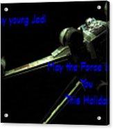 Star Wars Birthday Card 7 Acrylic Print