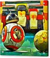 Star Wars Brothers - Pa Acrylic Print
