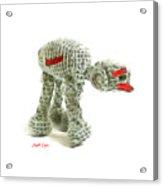 Star Wars Combat Crochet Armoured Vehicle Acrylic Print