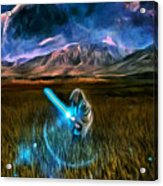 Star Wars Field Acrylic Print