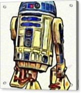 Star Wars R2d2 Droid - Da Acrylic Print
