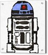 Star Wars R2d2 Droid Robot Acrylic Print