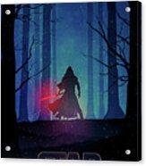 Star Wars - The Force Awakens Acrylic Print