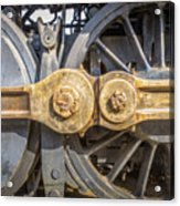 Starboard Drive Wheels And Connecting Rods No. 9000 Acrylic Print