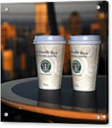 Starbucks At The Top Acrylic Print