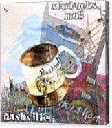 Starbucks Mug Nashville Acrylic Print