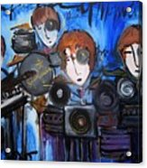 Starfucker At Monolith Acrylic Print by Laurie Maves ART