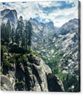 Staring At The Continental Divide Acrylic Print