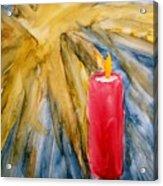 Starlight And Candlelight Acrylic Print