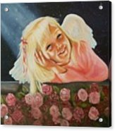 Starlight Angel Acrylic Print