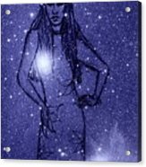 Starlight Of Space And Time 2 Acrylic Print