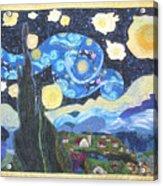 Starry Flight Acrylic Print