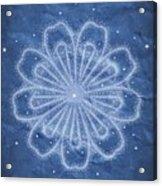 Starry Kaleidoscope Acrylic Print