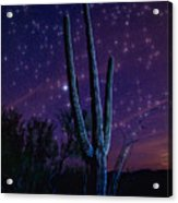 Starry Starry Sonoran Skies  Acrylic Print