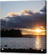 Starry Sunset Acrylic Print