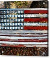 Stars And Stripes Acrylic Print