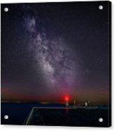 Stars Over Lake Ontario Acrylic Print