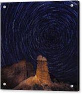 Stars Trails Acrylic Print