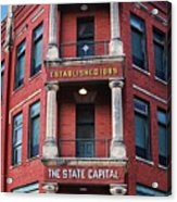 State Capital Entry  Acrylic Print