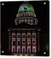 State Capitol Madison Wi Acrylic Print