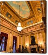 State House Christmas Acrylic Print