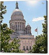 State House Acrylic Print