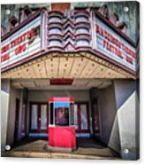 State Theater Acrylic Print