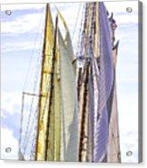 Stately Mariners Acrylic Print