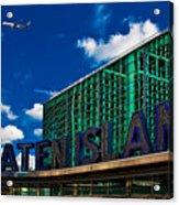 Staten Island Ferry Terminal Acrylic Print