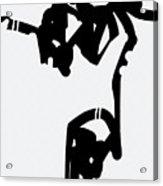 Static Fall Acrylic Print