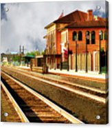Station In Waiting Acrylic Print