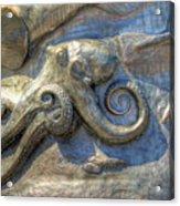 Statue Details Acrylic Print