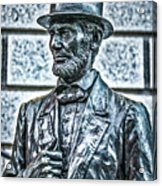 Statue Of Abraham Lincoln #7 Acrylic Print