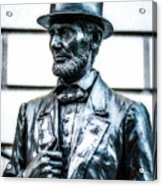 Statue Of Abraham Lincoln #9 Acrylic Print