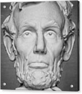 Statue Of Abraham Lincoln - Lincoln Memorial #6 Acrylic Print