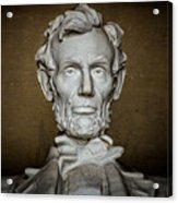Statue Of Abraham Lincoln - Lincoln Memorial #7 Acrylic Print