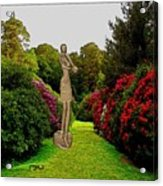 statue of an African girl 3 Acrylic Print