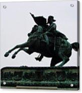 Statue Of Archduke Charles, Heldenplatz, Vienna Acrylic Print