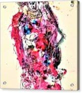 Statue Of Fright Acrylic Print