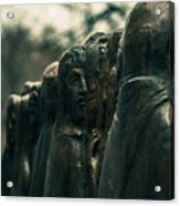 Statue Of Idle Thought Acrylic Print