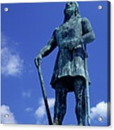 Statue Of Leif Ericksson  Acrylic Print