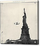 Statue Of Liberty, 1909 Acrylic Print
