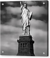 Statue Of Liberty At Dusk Acrylic Print